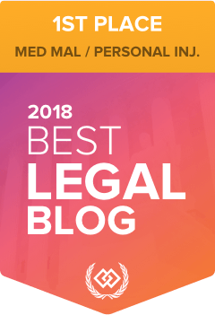 1st Place - Best Legal Blog 2018
