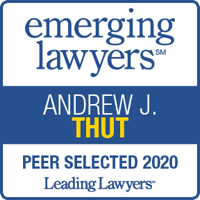 Leading Lawyers badge - Andrew J. Thut - 2020