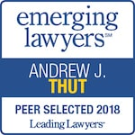Leading Lawyers badge - Andrew J. Thut - 2018